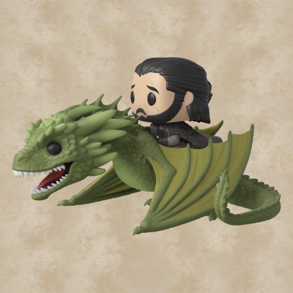 Funko POP! Jon Snow & Rhaegal - Game of Thrones