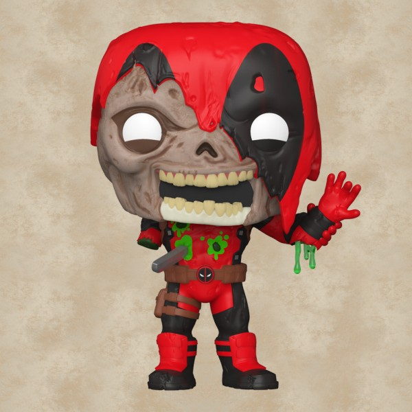 Funko POP! Zombie Deadpool - Marvel