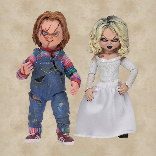 Chucky und seine Braut Action Figur (10 cm) 2-Pack - Chucky