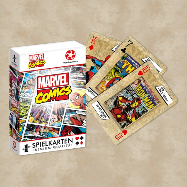 Marvel Comics Number1 Spielkarten