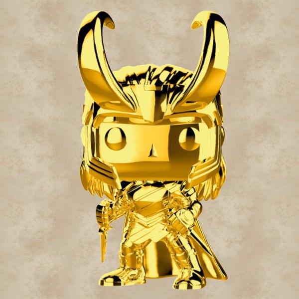 Funko POP! Loki (Gold Chrome) - Marvel