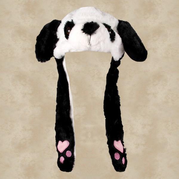 Panda Wackelohr Mütze