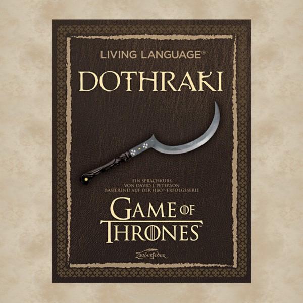 Living Language: Dothraki Sprachkurs - Game of Thrones