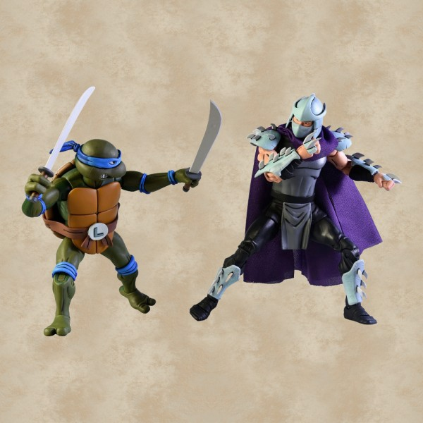 Leonardo vs. Shredder Action Figuren - Teenage Mutant Ninja Turtles