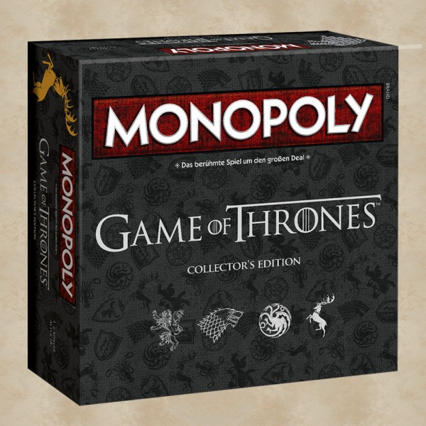 Monopoly Game of Thrones (Collector´s Edition) - Game of Thrones