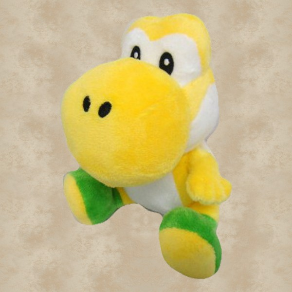 Yoshi Plüschfigur gelb (16 cm) - Super Mario