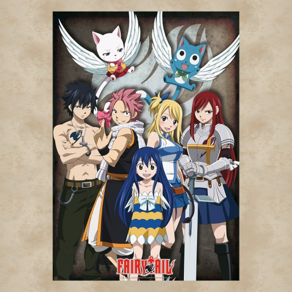 Gruppe Maxi Poster - Fairy Tail
