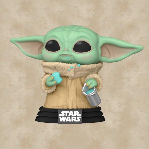 Funko POP! Grogu with Cookie - Star Wars: Mandalorian
