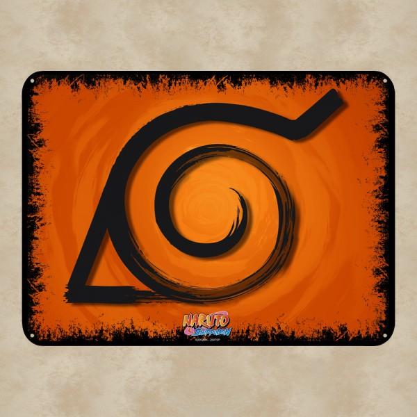 Konoha Blechschild - Naruto Shippuden