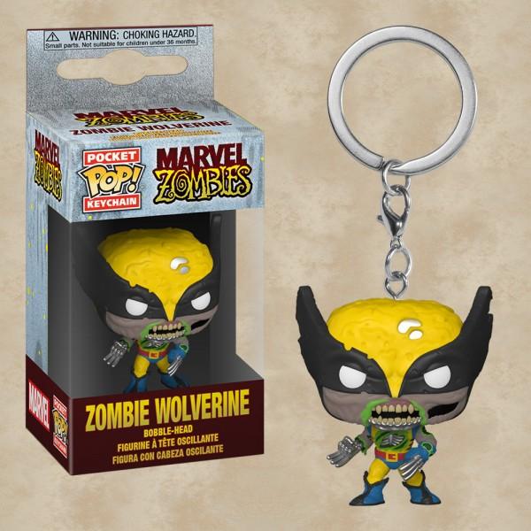 Pocket POP! Zombie Wolverine - Marvel