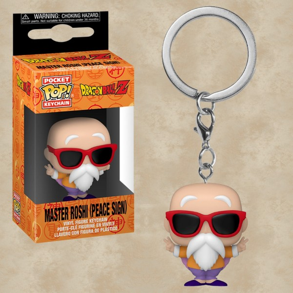 Pocket POP! Master Roshi (Peace Sign) - Dragon Ball Z