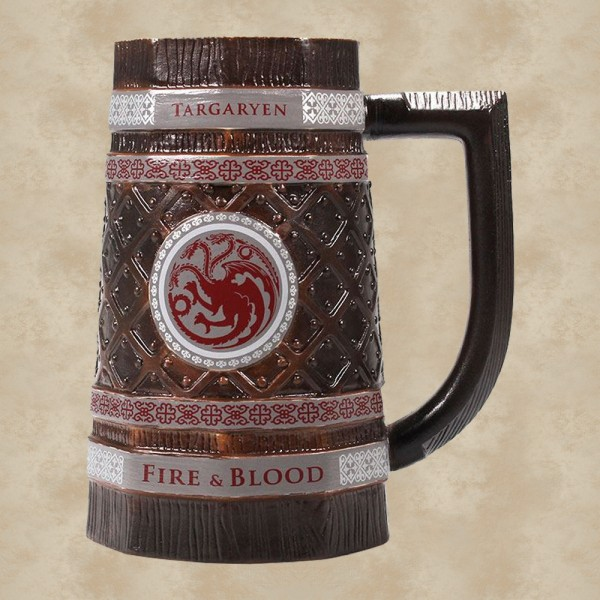 Targaryen Fire & Blood Bierkrug - Game of Thrones