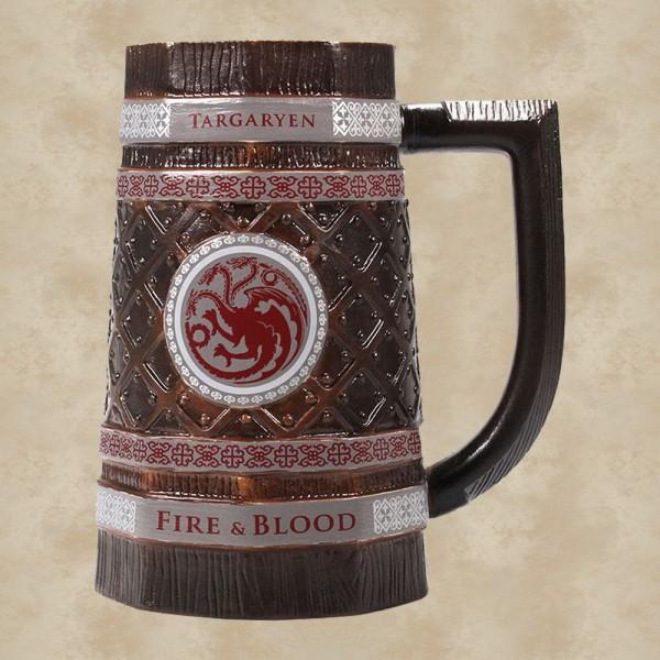 Targaryen Fire & Blood Bierkrug - Game of Thrones