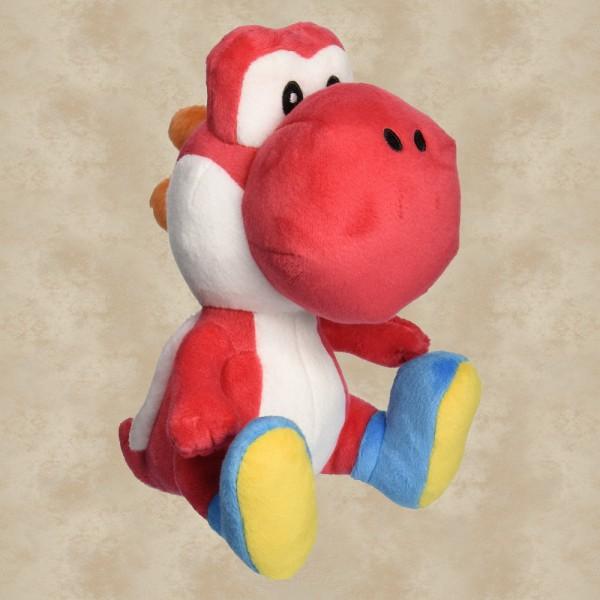 Yoshi Plüschfigur rot (16 cm) - Super Mario
