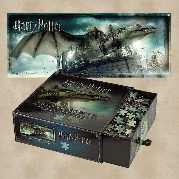 Puzzle Flucht aus Gringotts - Harry Potter