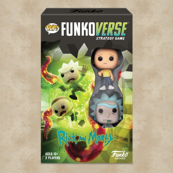 POP! Funkoverse Rick and Morty 100 (Strategy Game) - Rick and Morty