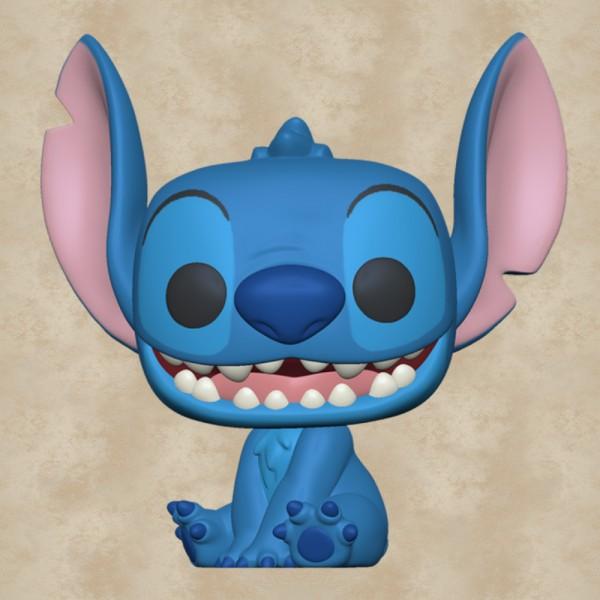 Funko POP! Smiling Seated Stitch - Lilo und Stitch