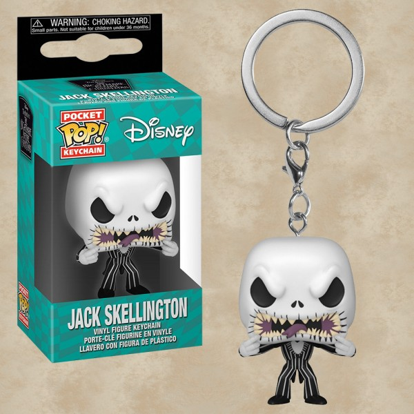 Pocket POP! Jack (scary face) - Nightmare Before Christmas