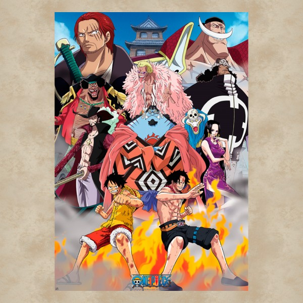 Marine Ford Maxi Poster - One Piece