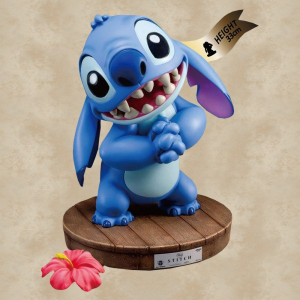 Master Craft Statue Stitch (33 cm) (Limited Edition) - Disney