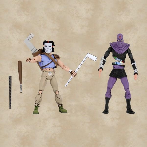 Casey Jones vs. Foot Soldier Action Figuren - Teenage Mutant Ninja Turtles
