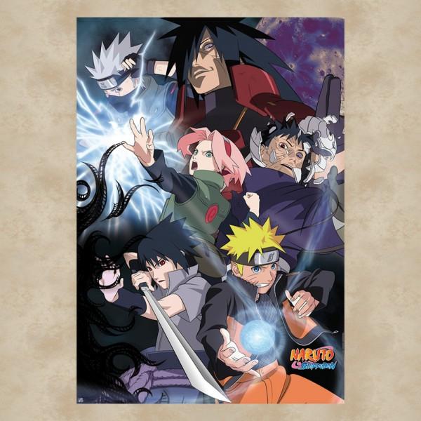 Group Ninja War Maxi Poster - Naruto Shippuden