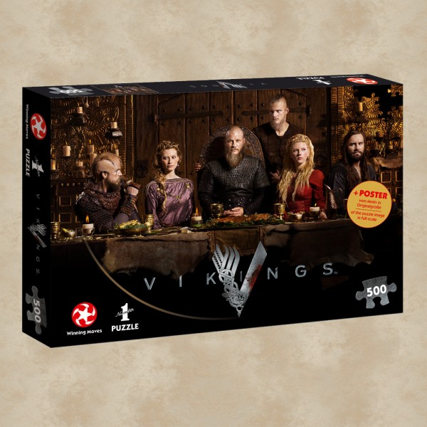 Puzzle Ragnar's Court - Vikings