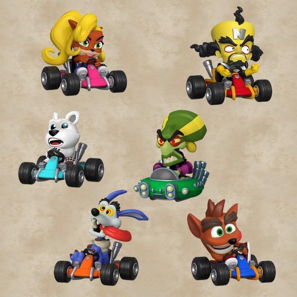 Funko Mini Vinyl Figuren (Blind Box) - Crash Team Racing