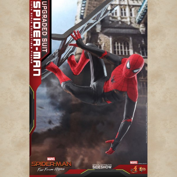 Hot Toys Figur Spider-Man Upgraded Suit - Far From Home