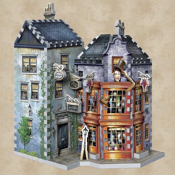 Weasleys zauberhafte Scherze und Tagesprophet 3D Puzzle - Harry Potter