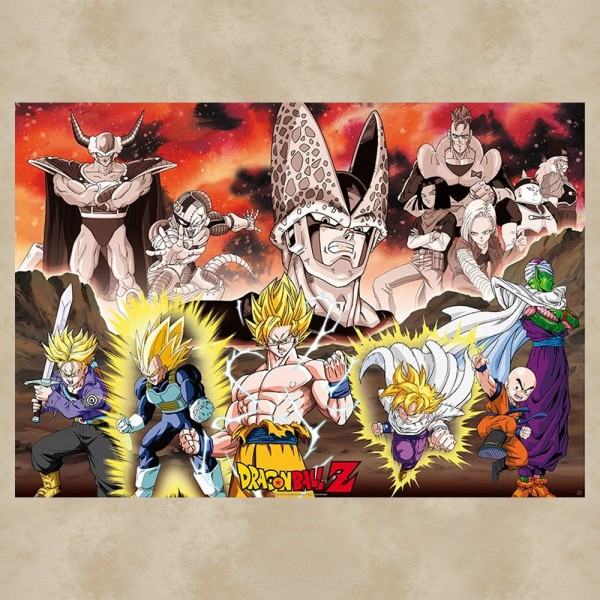 Dragon Ball Gruppe Poster - Dragon Ball Z