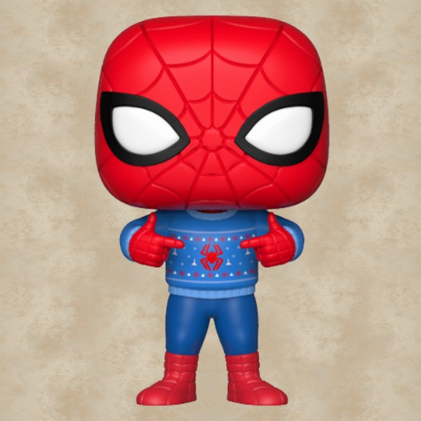 Funko POP! Spider-Man (Ugly Sweater)