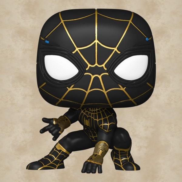 Funko POP! Spider-Man (Black & Gold Suit) - Spider-Man: No Way Home