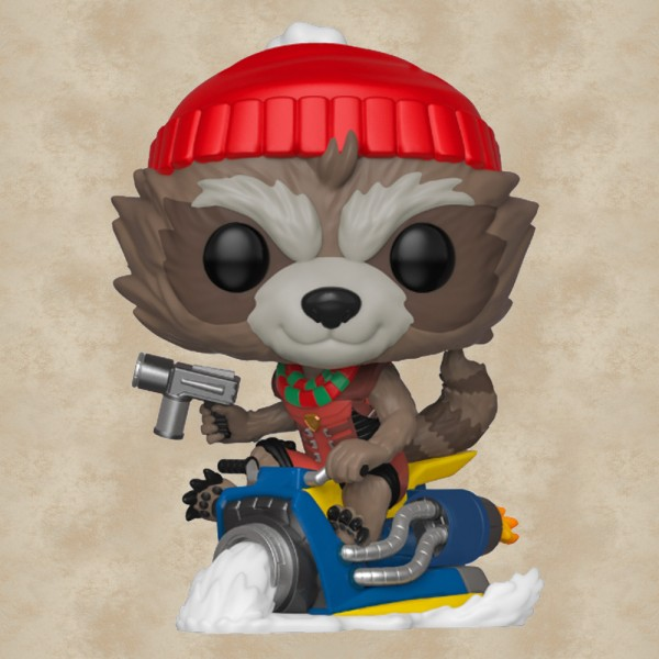 Funko POP! Holiday Rocket  - Marvel