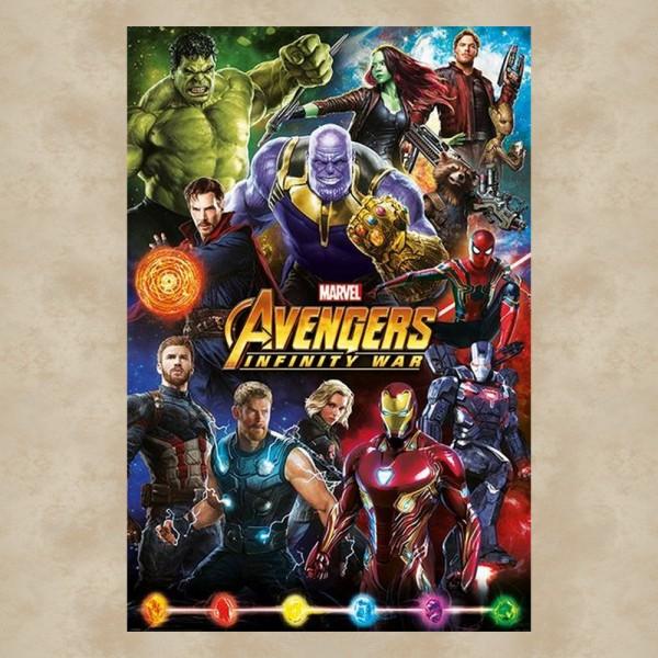 Avengers Infinity Stones Maxi Poster - Marvel