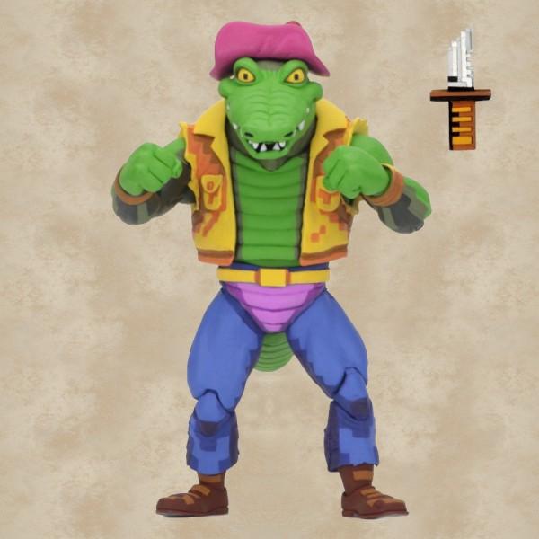 Leatherhead Action Figur - Teenage Mutant Ninja Turtles