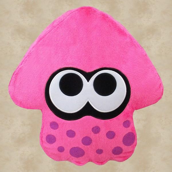 Splatoon Neon Pink Kissen (30 cm) - Nintendo