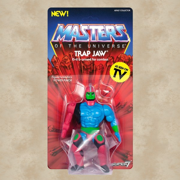Vintage Actionfigur Trap Jaw - Masters of the Universe