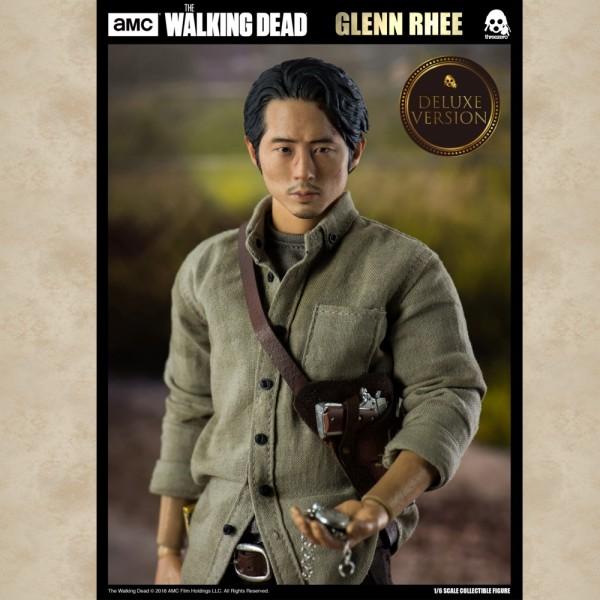 Actionfigur Glenn Rhee (1/6 Deluxe Version) - The Walking Dead
