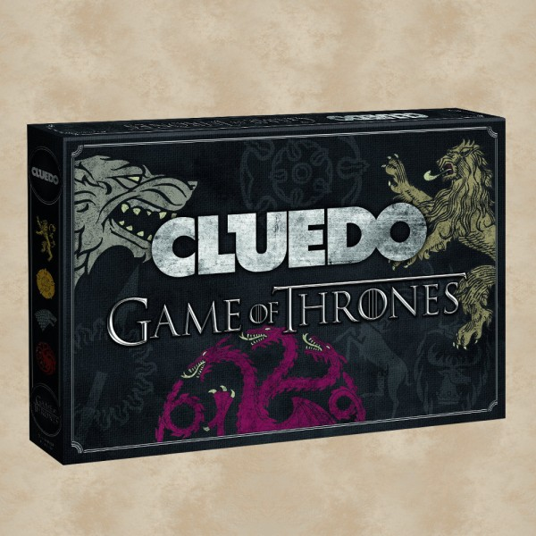 Game of Thrones Cluedo Brettspiel - Game of Thrones