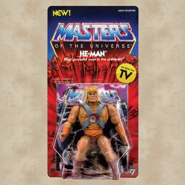 Vintage Actionfigur He-Man - Masters of the Universe