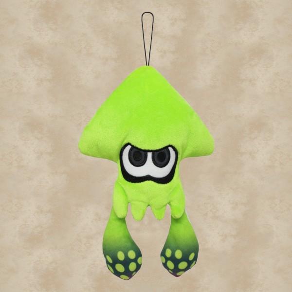 Splatoon Tintenfisch Plüschfigur Grün (23 cm) - Nintendo