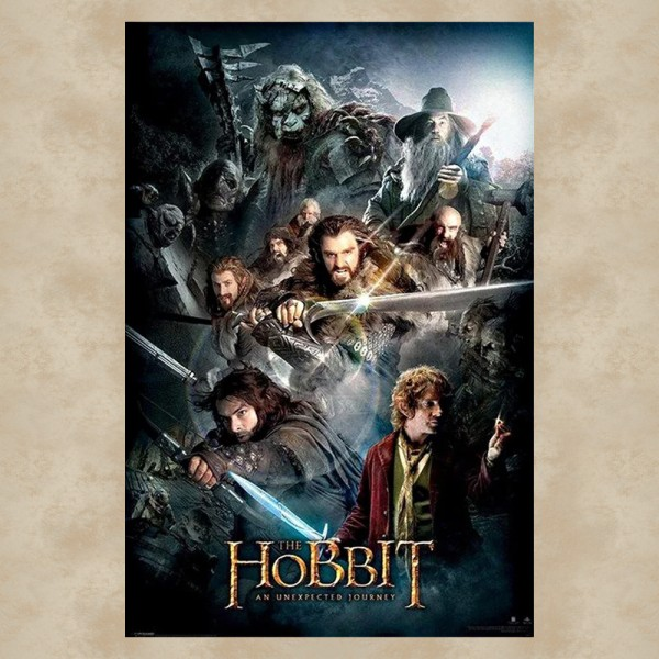 An Unexpected Journey Maxi Poster - Der Hobbit
