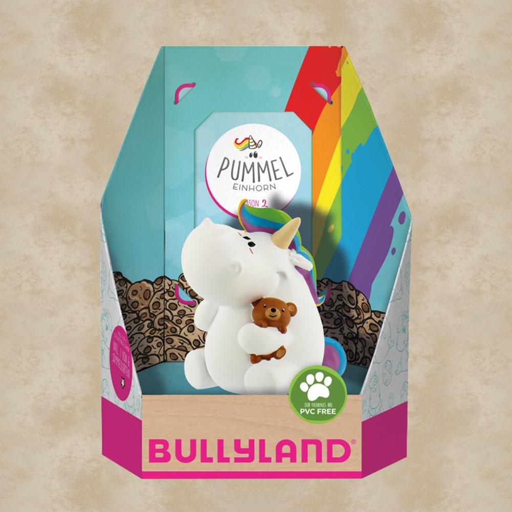 Pummeleinhorn Pummel mit Teddy Figur /& Sammelkarte