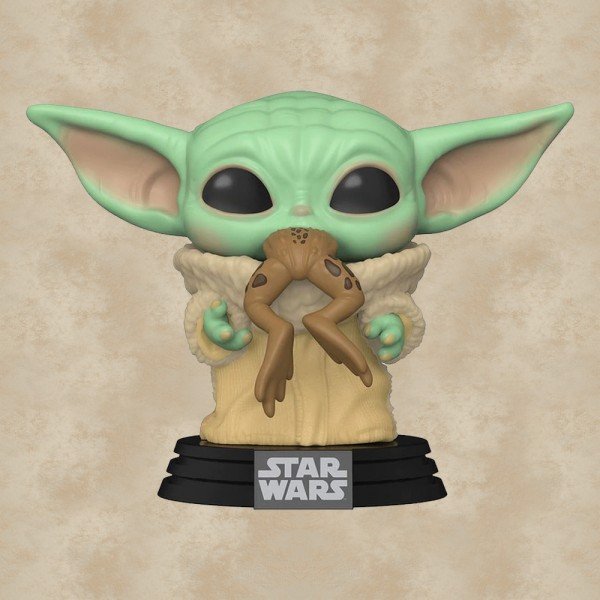 Funko POP! The Child (Baby Yoda) with Frog - The Mandalorian