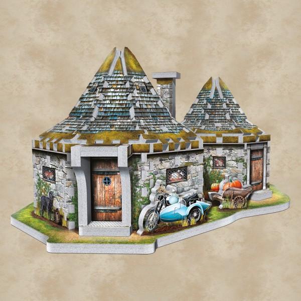 Hagrids Hütte 3D Puzzle - Harry Potter