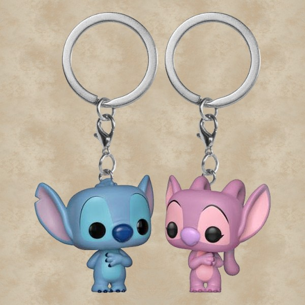 Pocket POP! Stitch und Angel - Disney