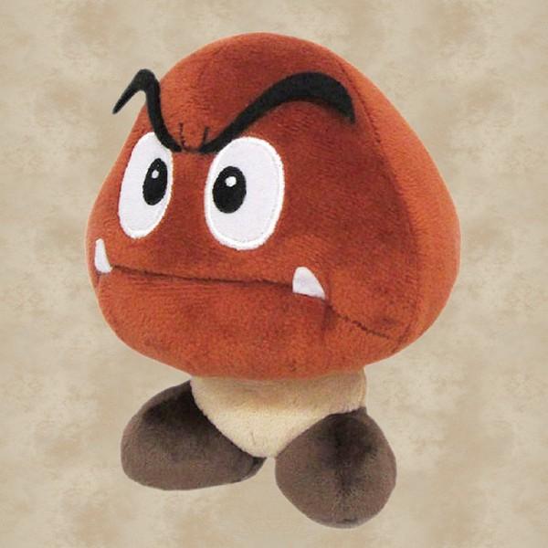 Gumba Plüschfigur (15 cm) - Super Mario