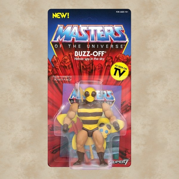 Vintage Actionfigur Buzz Off - Masters of the Universe