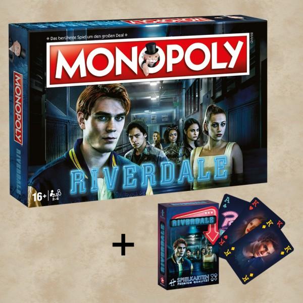 Monopoly Riverdale & Spielkarten Bundle (Exklusiv)
